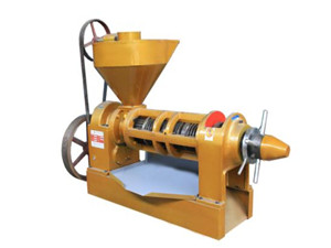 chine machine automatique d'extraction d'huile végétale